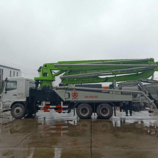 湖南长沙38米混凝土搅拌臂架天泵-长沙最好的混凝土搅拌臂架天泵生产企业