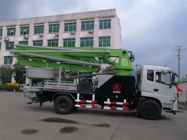 小型混凝土泵车哪些零件容易损坏,长沙27米小型混凝土泵车生产厂家那家好